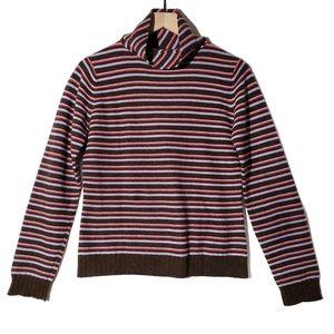 Patagonia || Stripe Turtleneck Cashmere Sweater